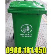 Thùng rác nhựa 360 lít